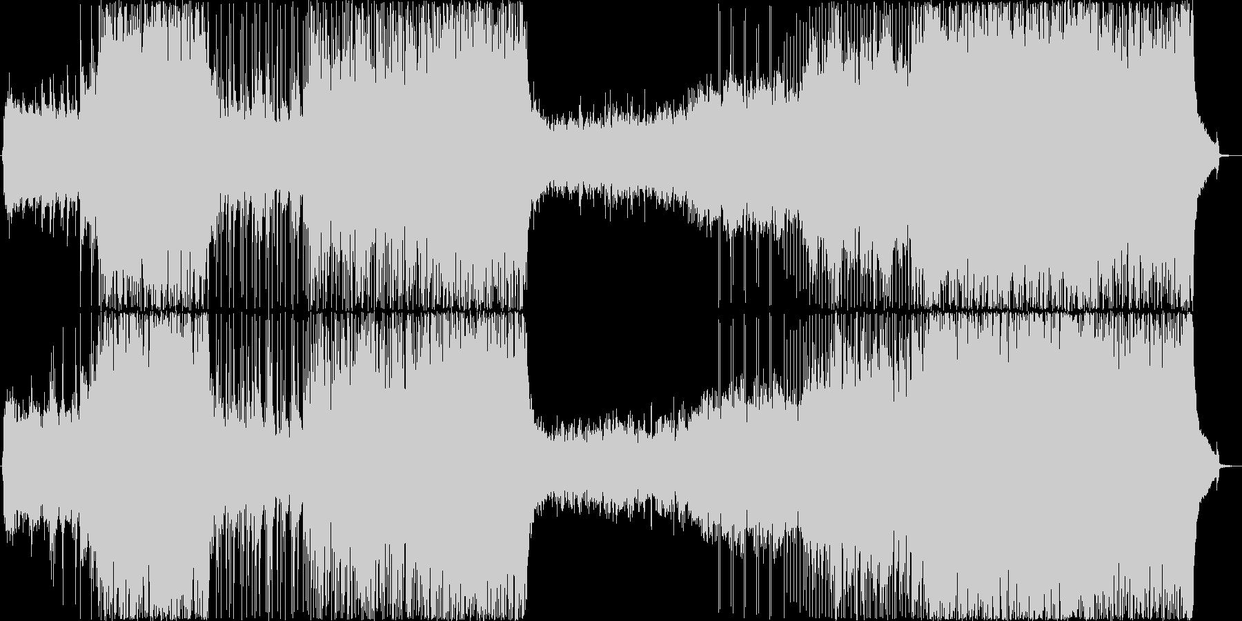 爽やかで明るいピアノポップの未再生の波形