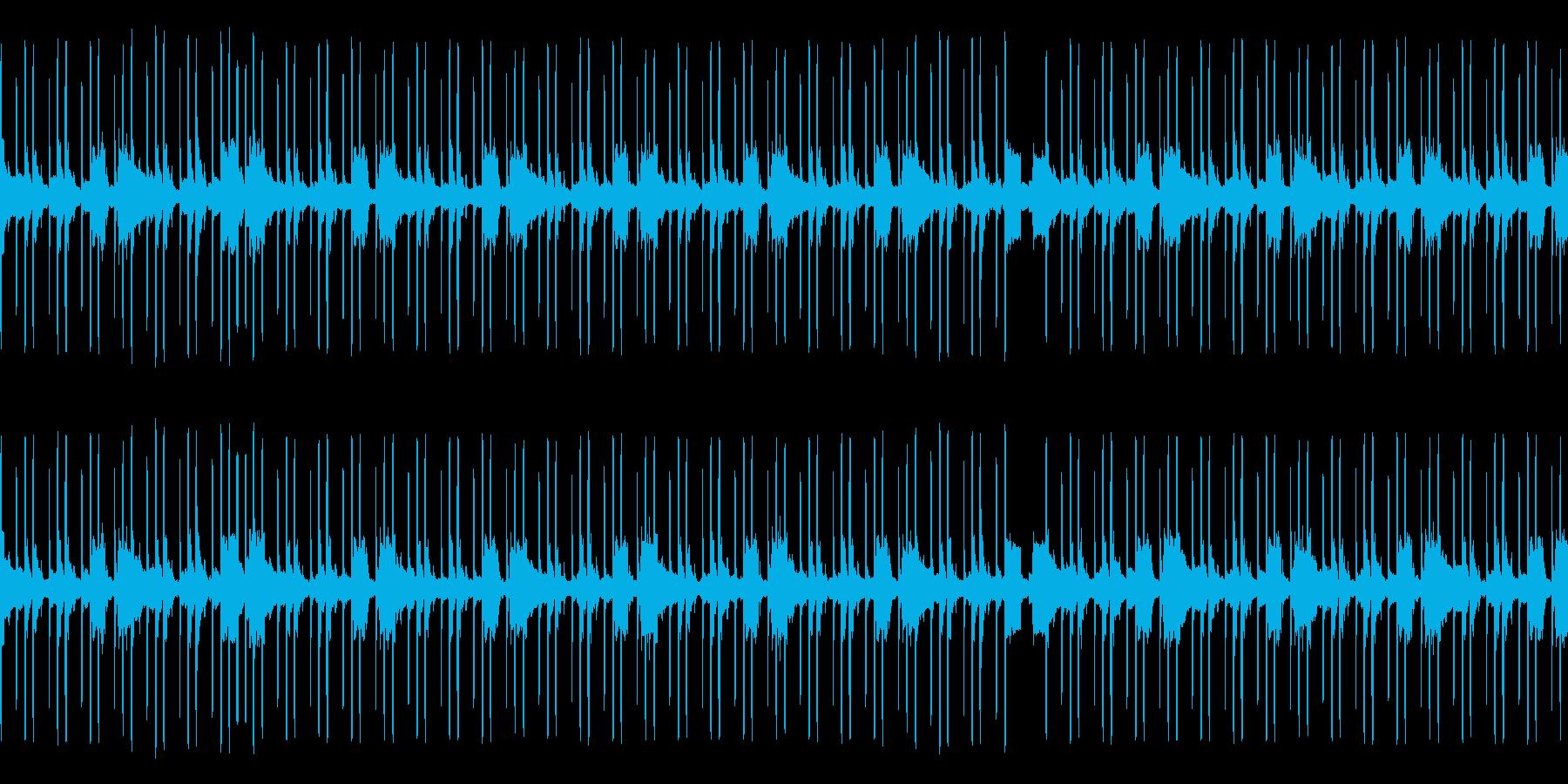 【暗い】ダーク 悪い ヒップホップの再生済みの波形
