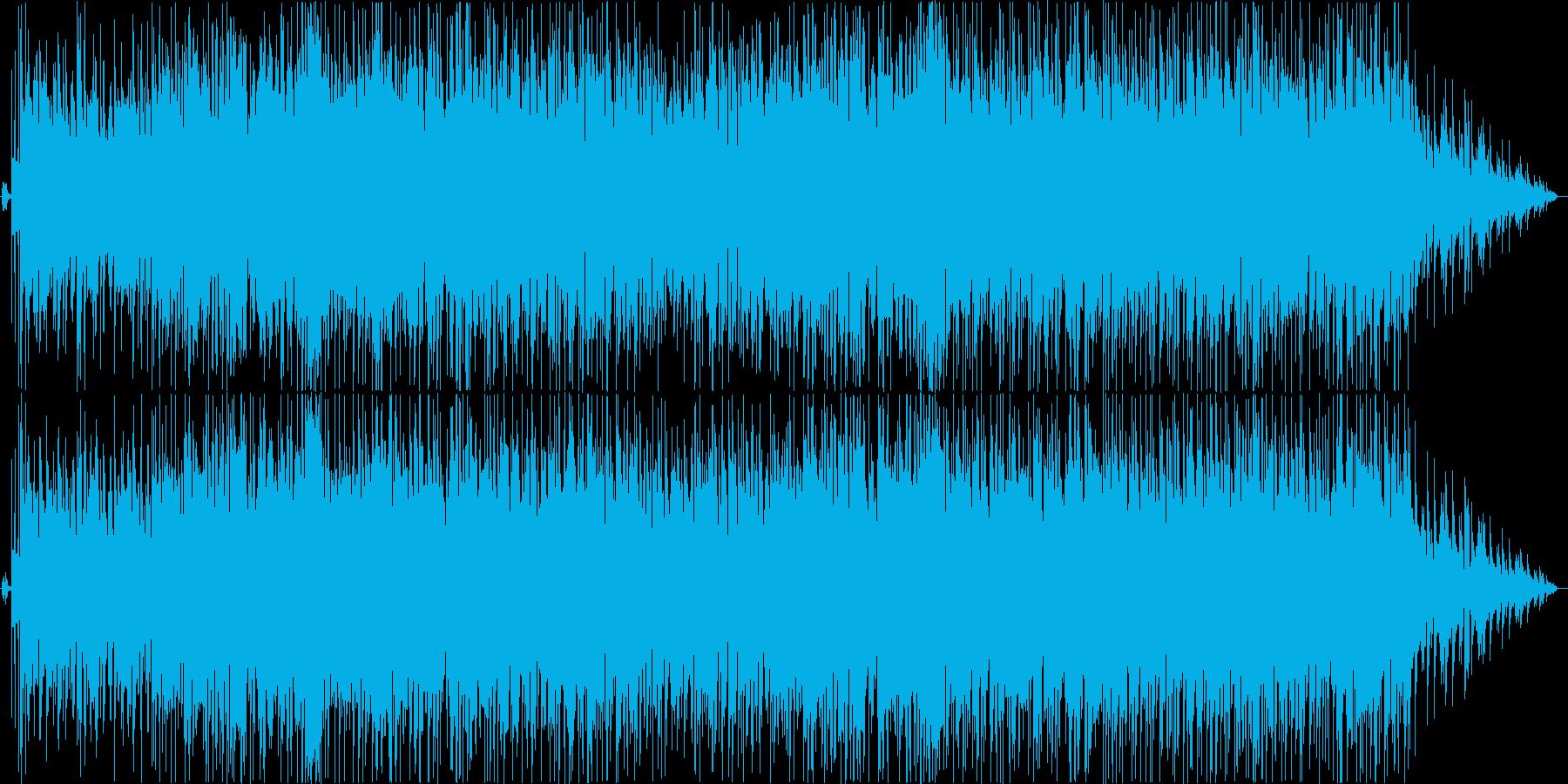 冬をイメージしたオシャレなスムースジャズの再生済みの波形