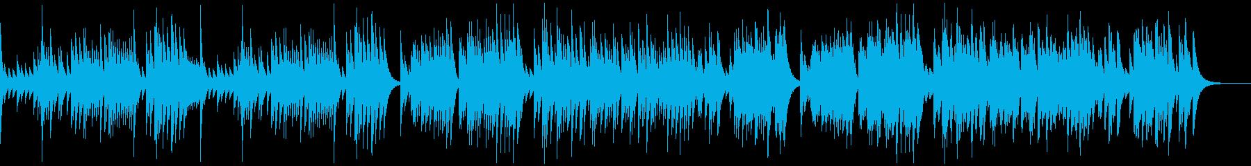 G線上のアリア オルゴールの再生済みの波形