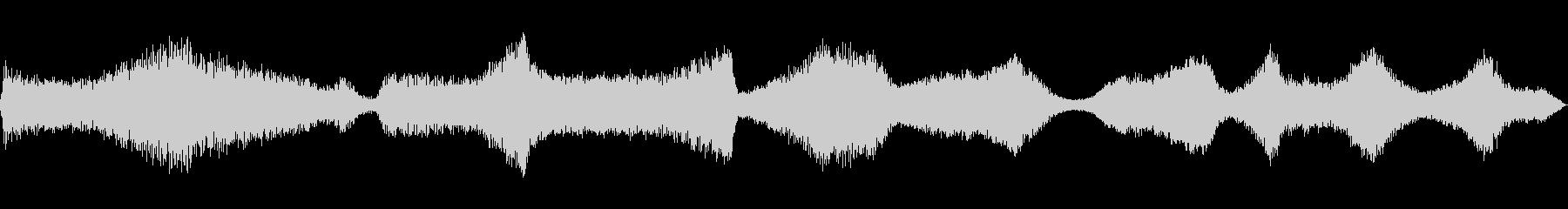 ラジオのチューニングの未再生の波形