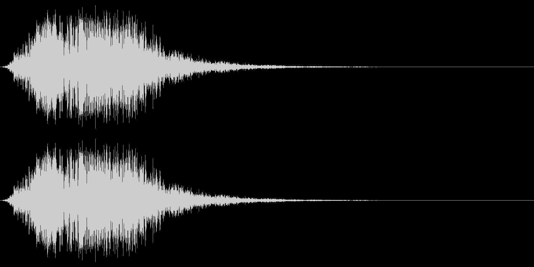 触手のイメージ(ボワゥシュシュ……)の未再生の波形