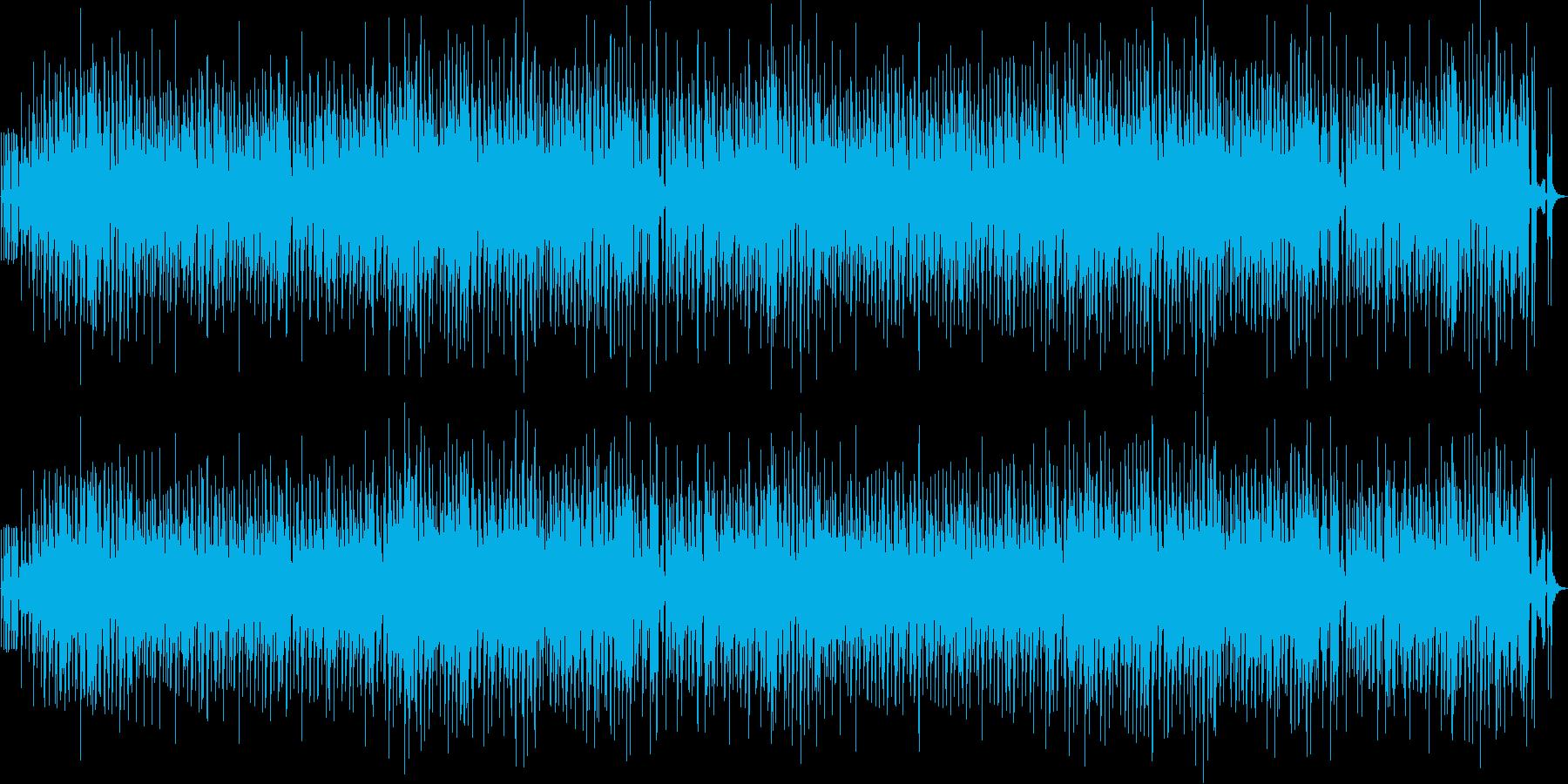 日常の雰囲気を切り取ったような和む曲の再生済みの波形