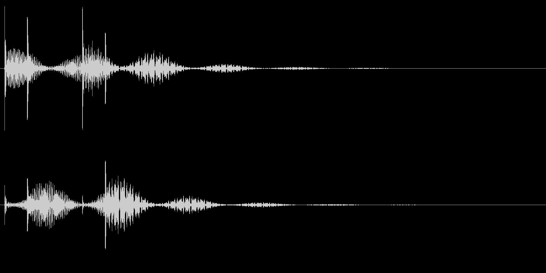 ホラー系の不穏な効果音。の未再生の波形