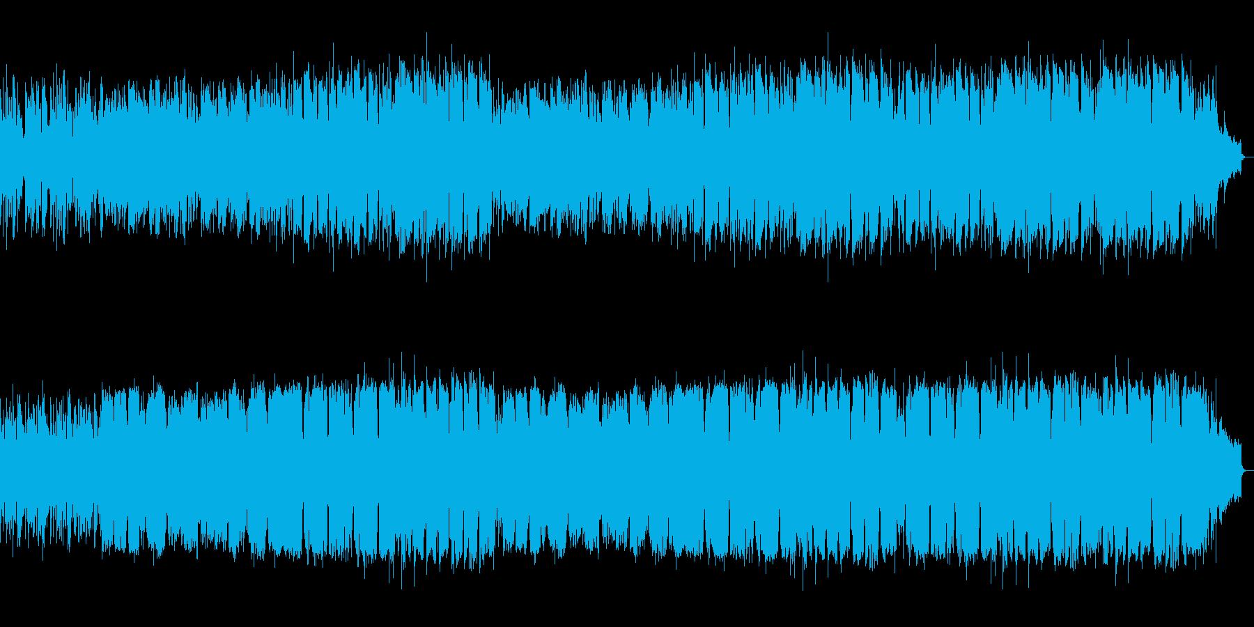 背中を押されるような優しいメロディアス曲の再生済みの波形