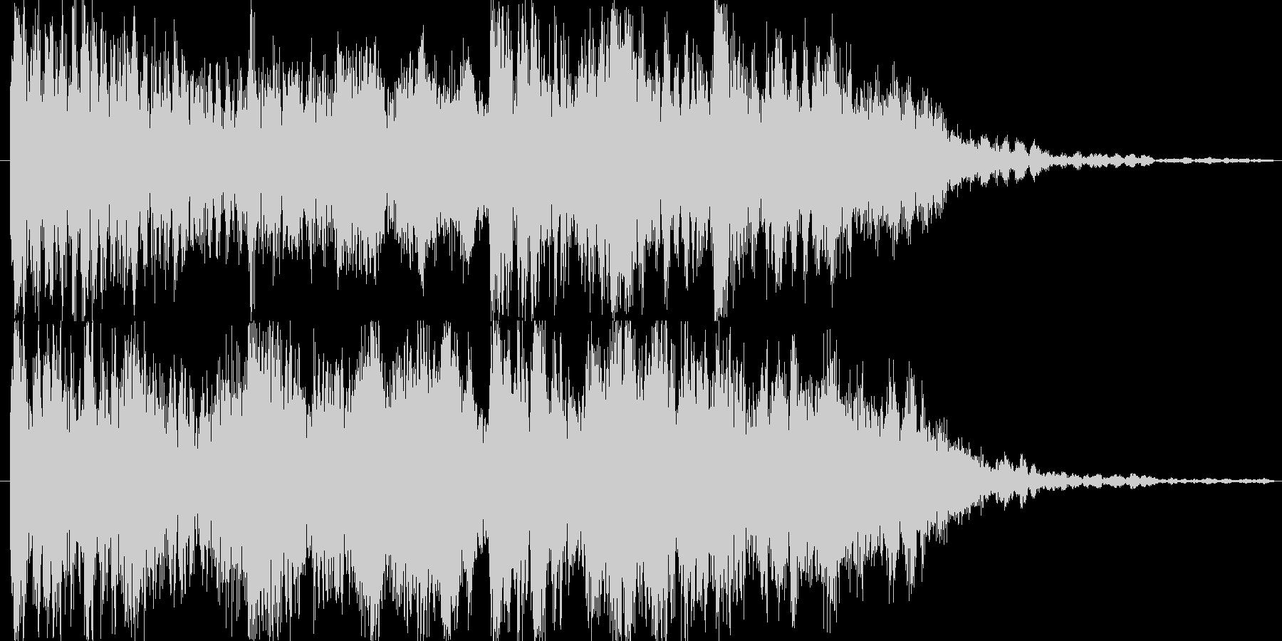 サウンドロゴ、ストリングステックの未再生の波形