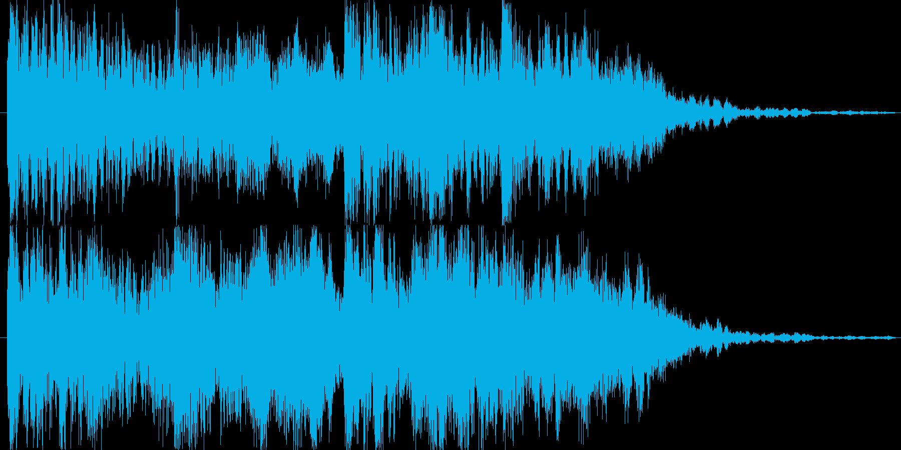 サウンドロゴ、ストリングステックの再生済みの波形