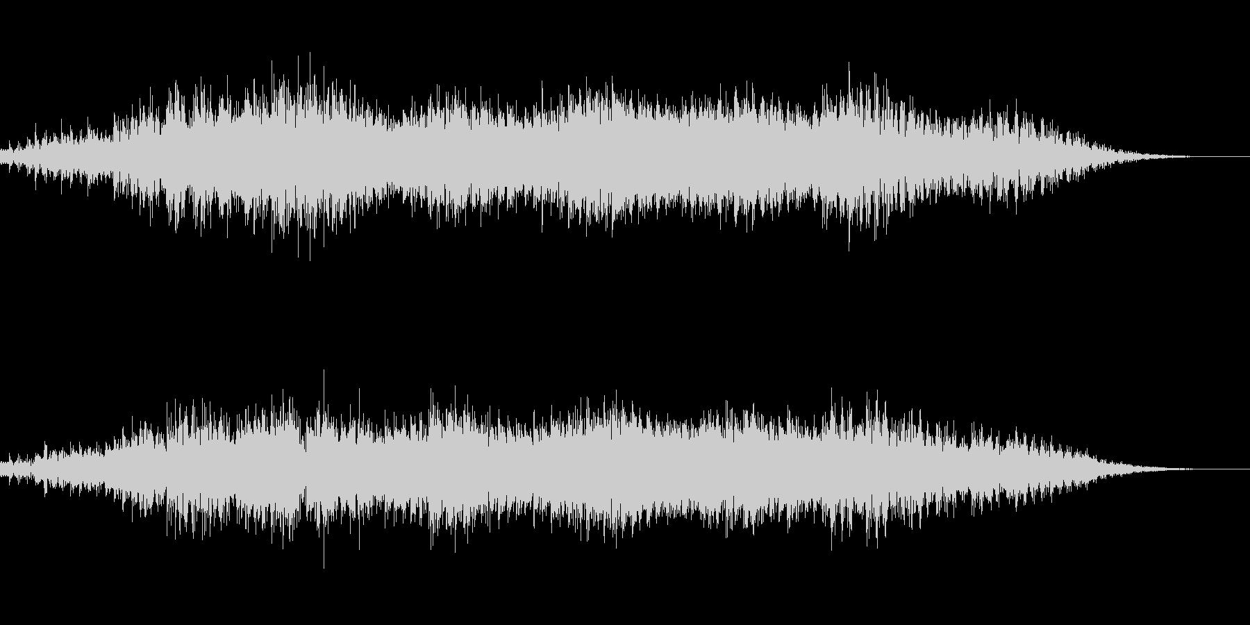 キラキラとしたBGMの未再生の波形