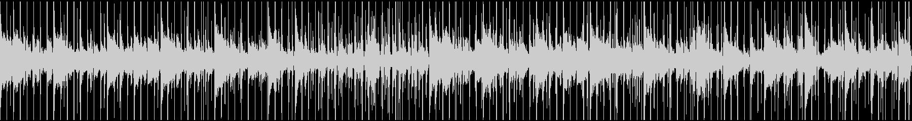 謎解き、推理中、ミステリー調(ループ)の未再生の波形