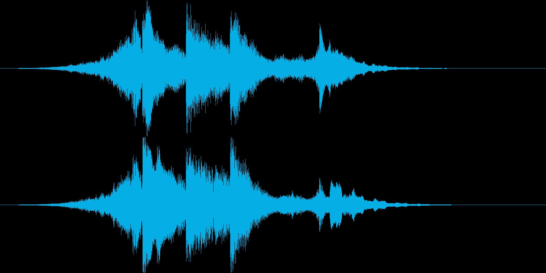 アコギとピアノで奏でるジングル#3の再生済みの波形