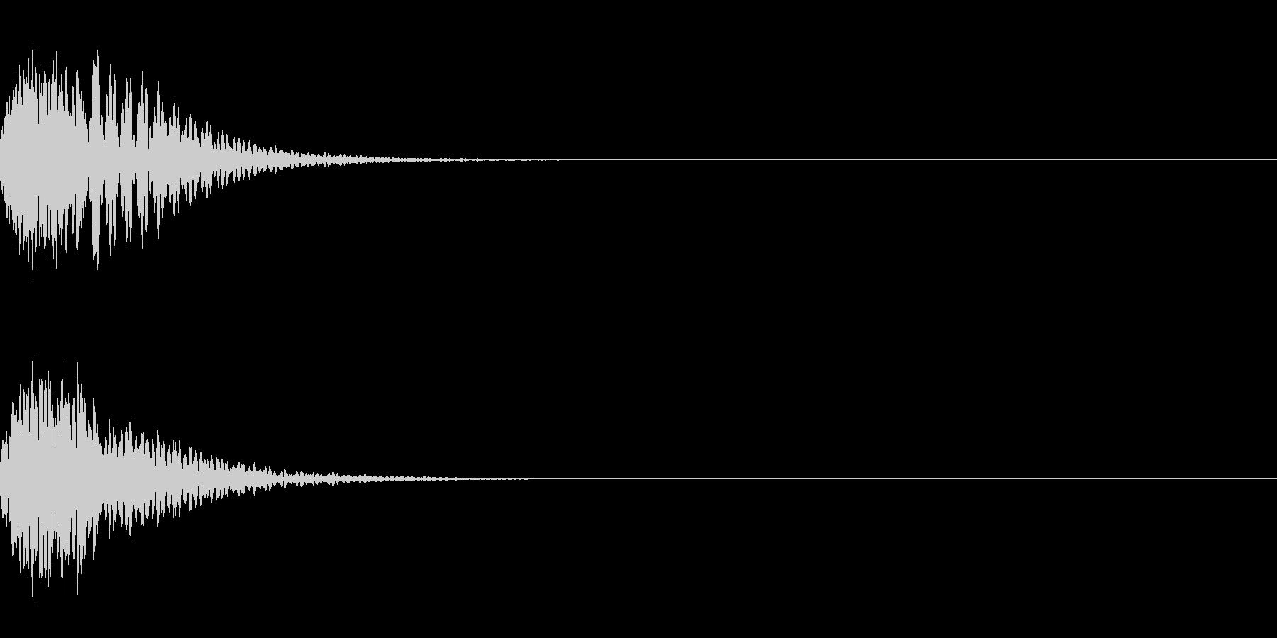 キュイン 光 ピカーン フラッシュ 06の未再生の波形