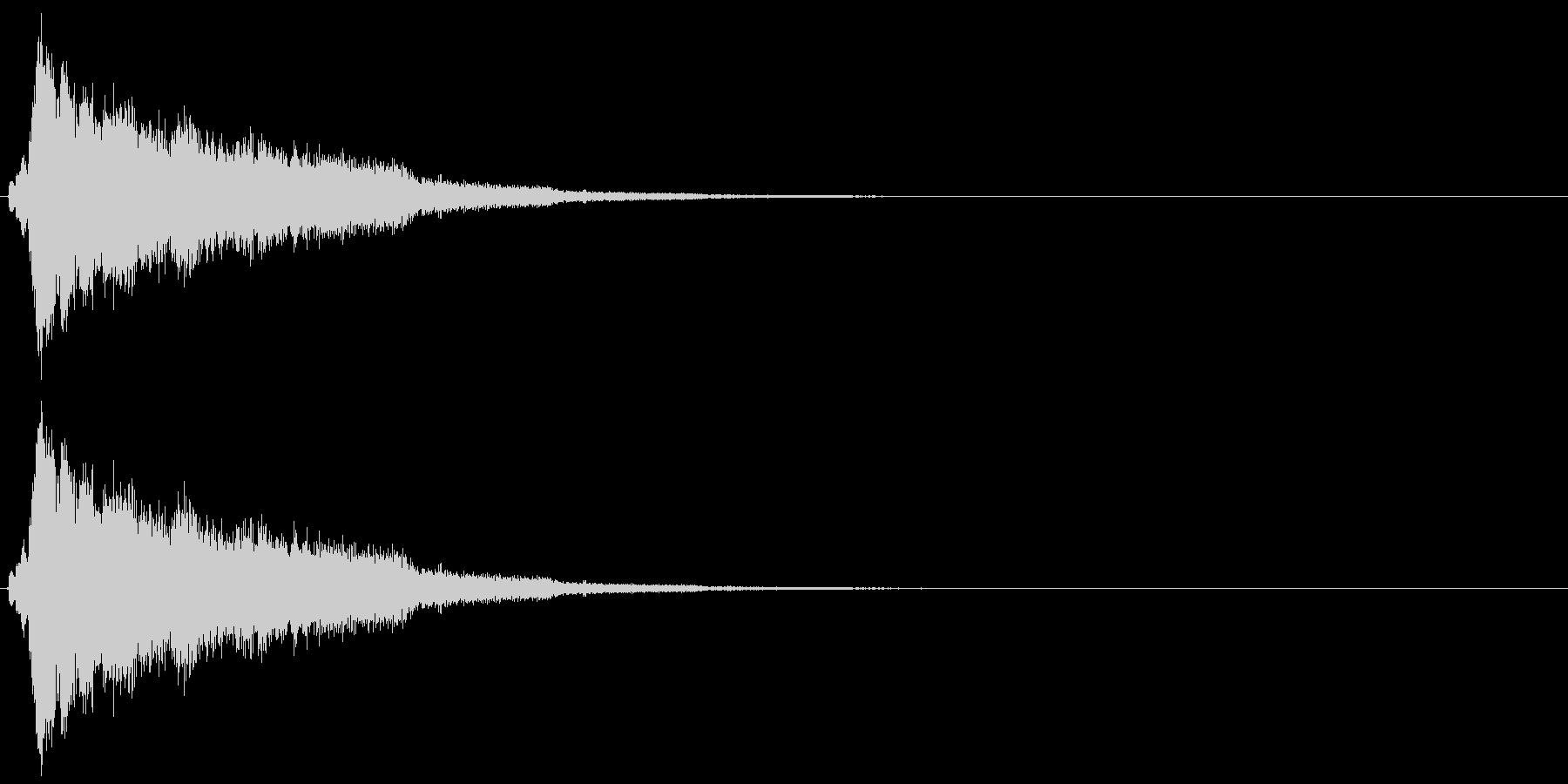 シュルリーーーーンの未再生の波形