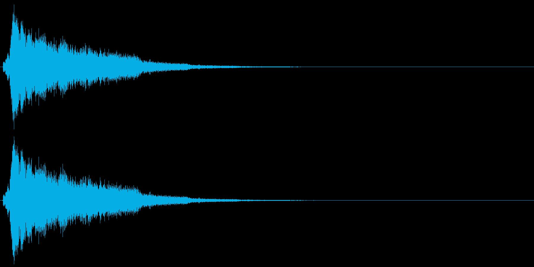 シュルリーーーーンの再生済みの波形