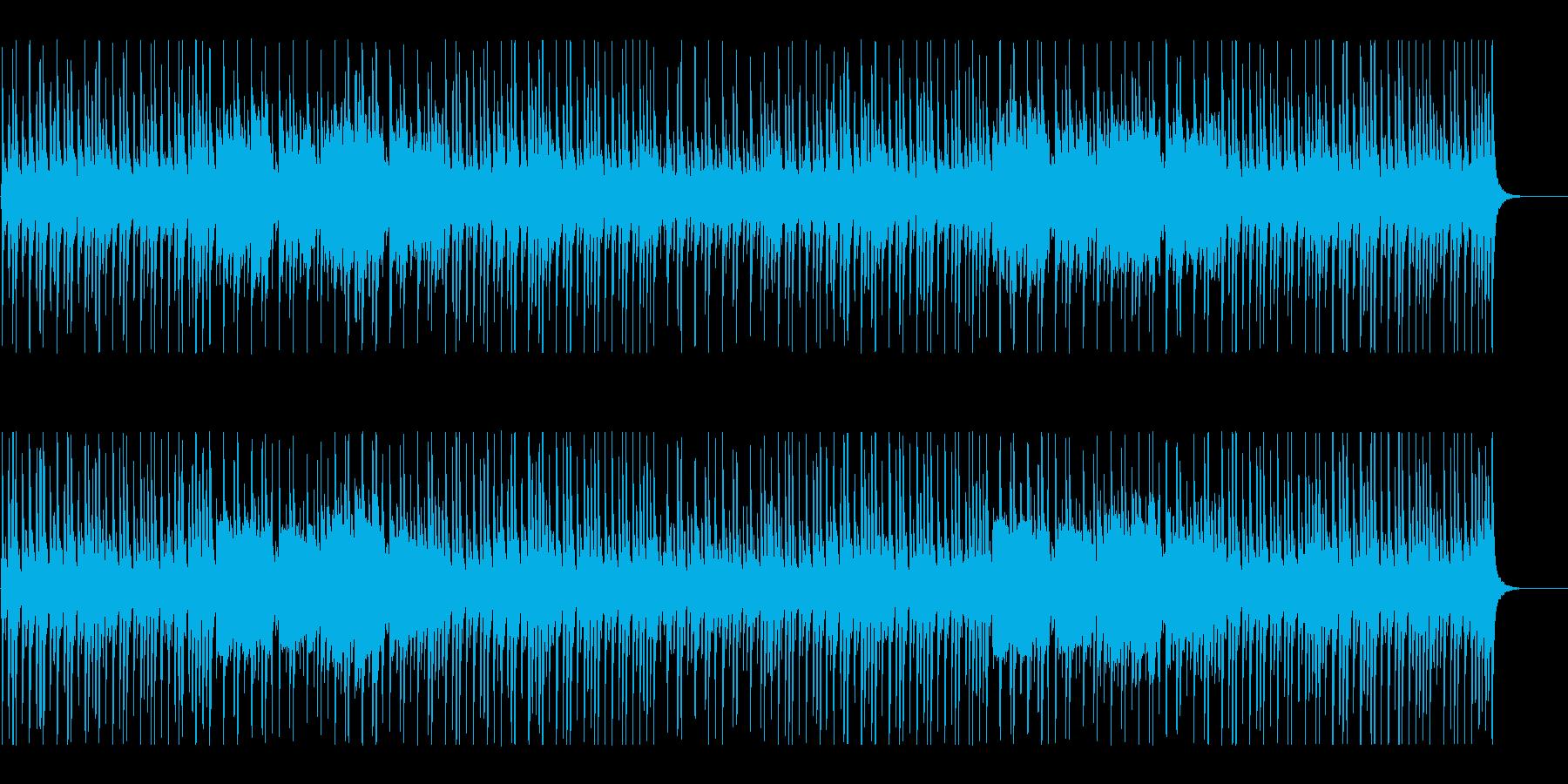 爽やかでほのぼのとしたBGMの再生済みの波形