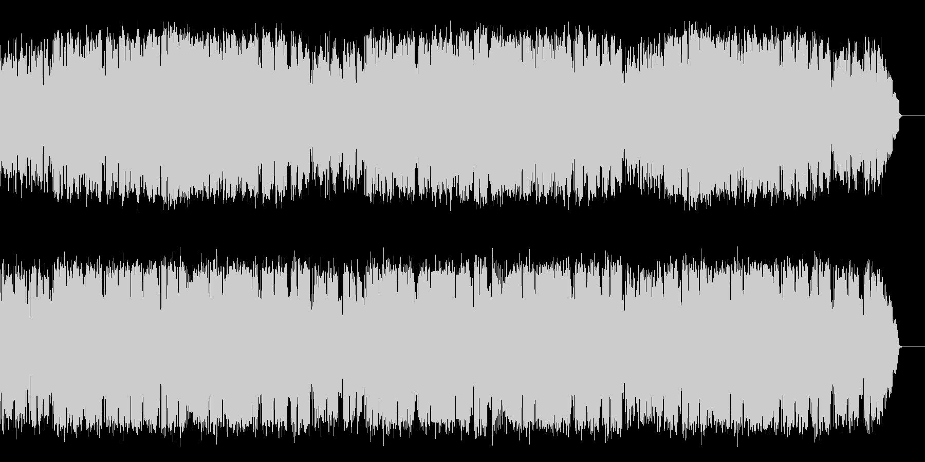 ドラマチックジャズバラードをSAXが演奏の未再生の波形