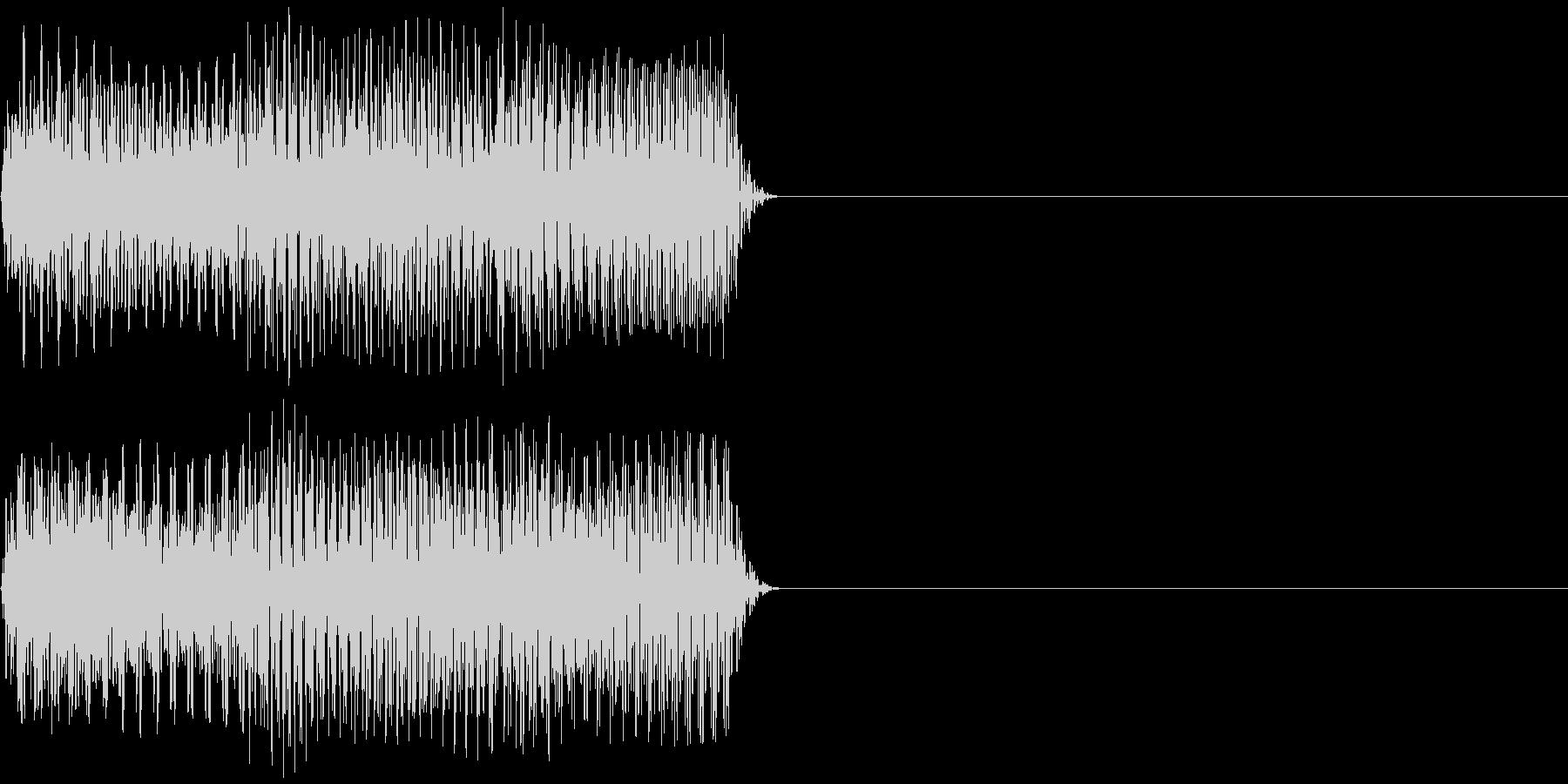 テレリ 何度も押したくなるボタン音 の未再生の波形