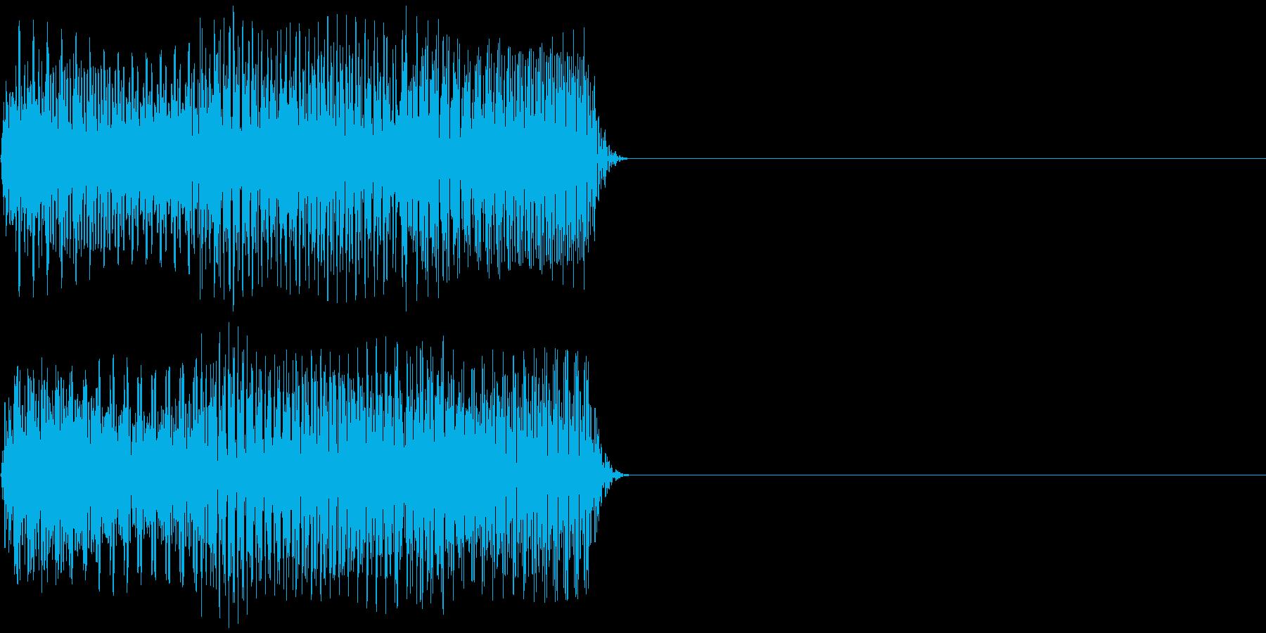 テレリ 何度も押したくなるボタン音 の再生済みの波形