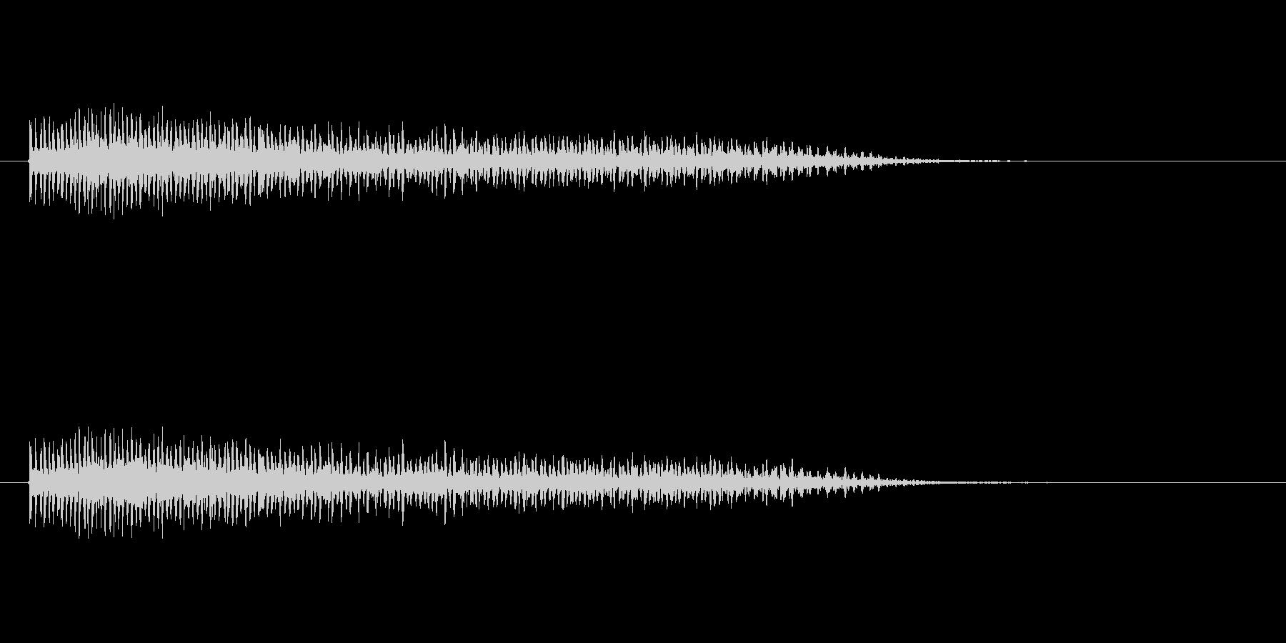 【ビブラスラップ01-8】の未再生の波形