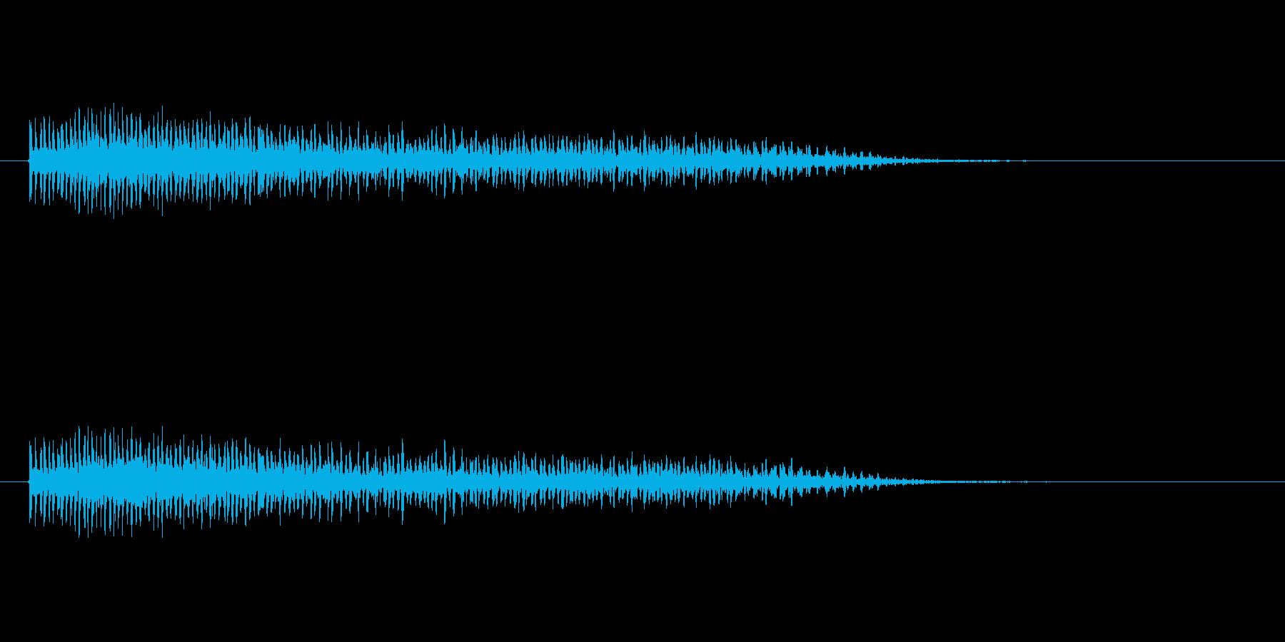 【ビブラスラップ01-8】の再生済みの波形
