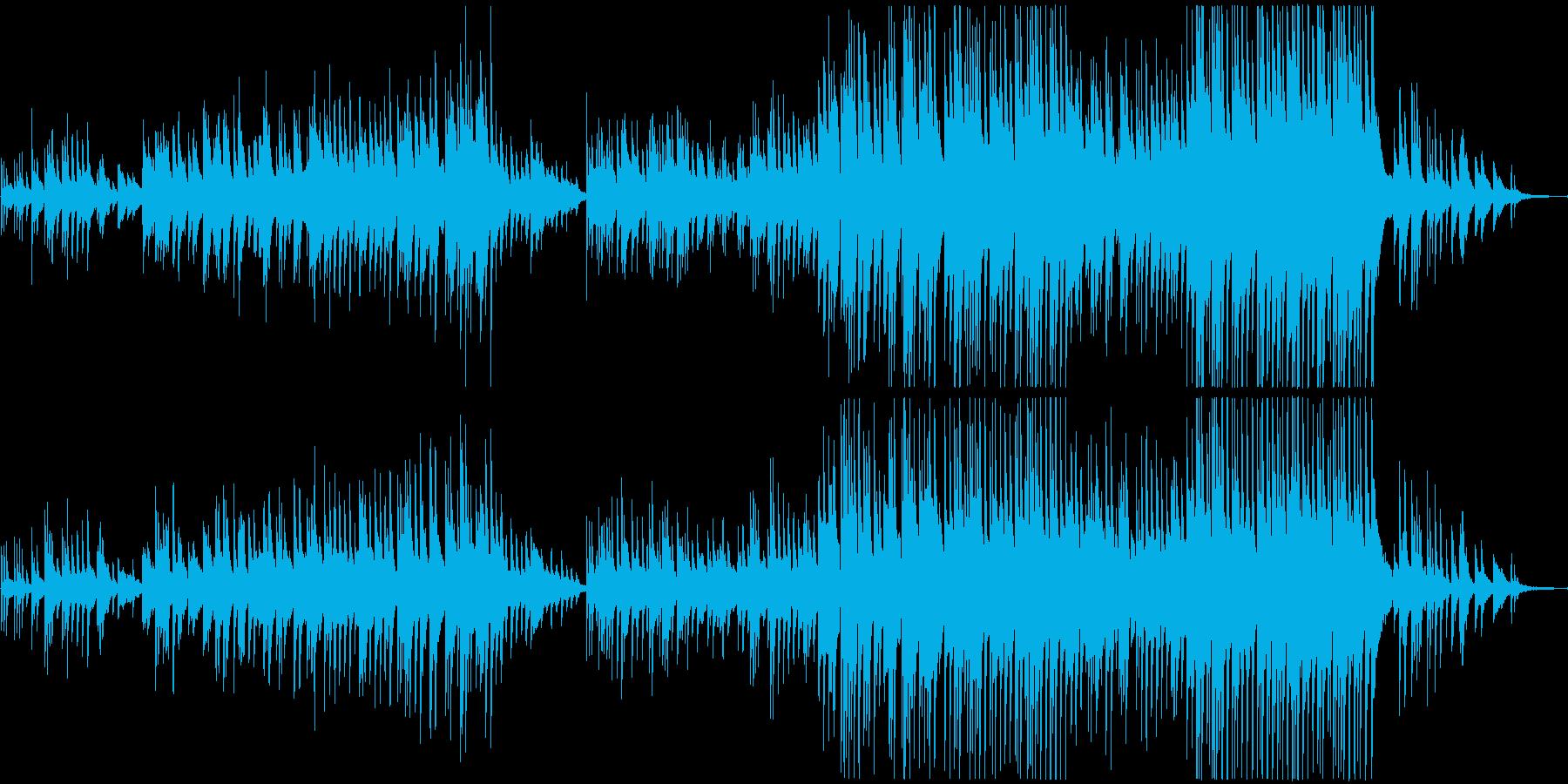 ホルスト組曲「惑星」の木星のピアノ版の再生済みの波形