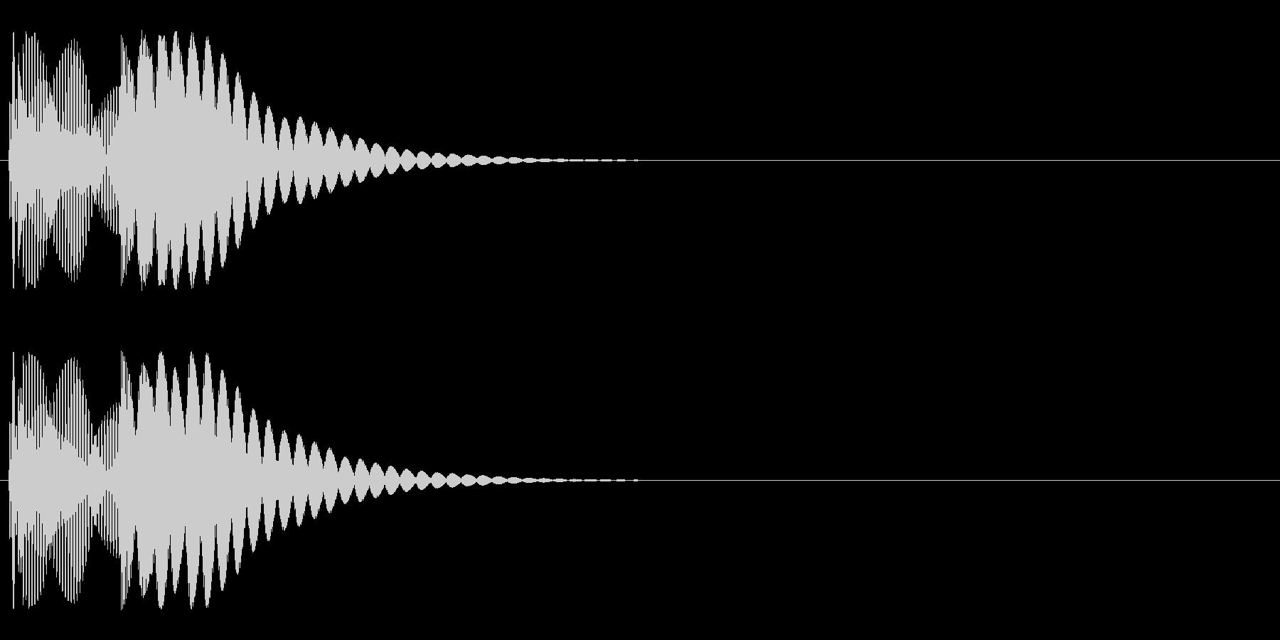システム系スタート音の未再生の波形