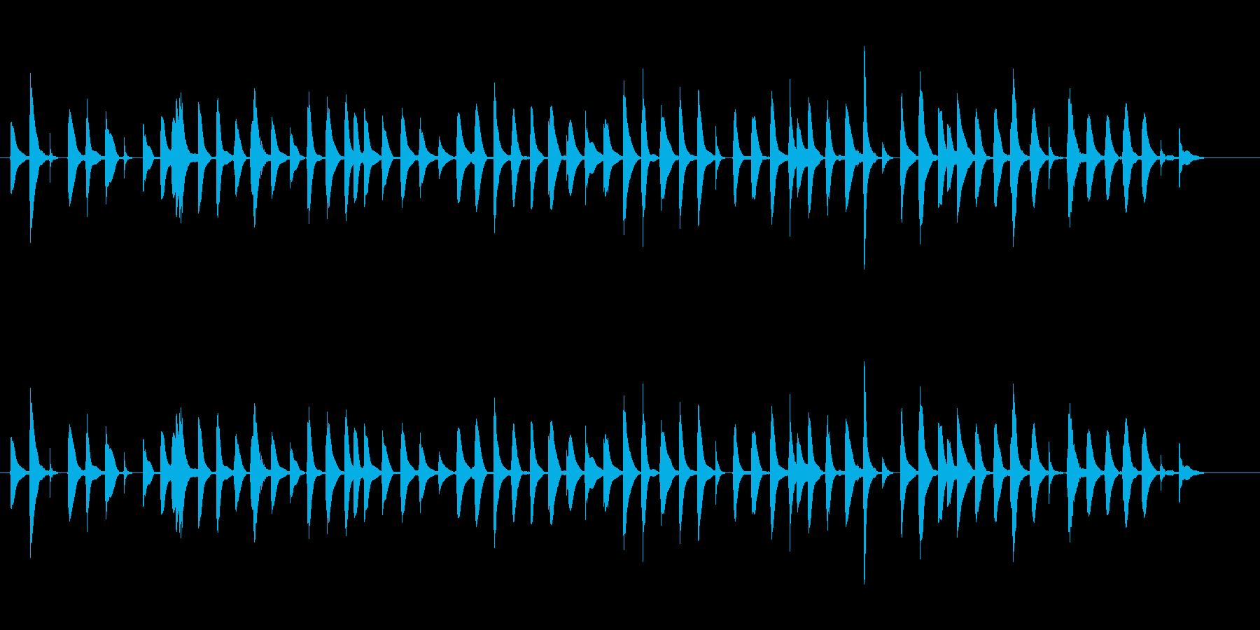 ほのぼの癒し系/バイオリンとビブラフォンの再生済みの波形