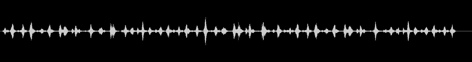 カリカリカリ(機械的で繊細な効果音)の未再生の波形