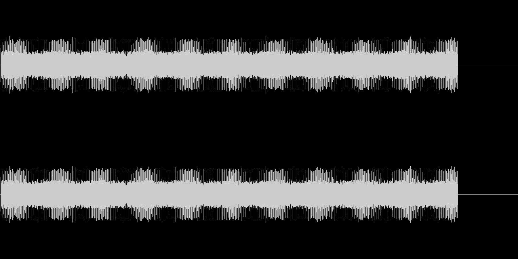 154 映写機の音の未再生の波形