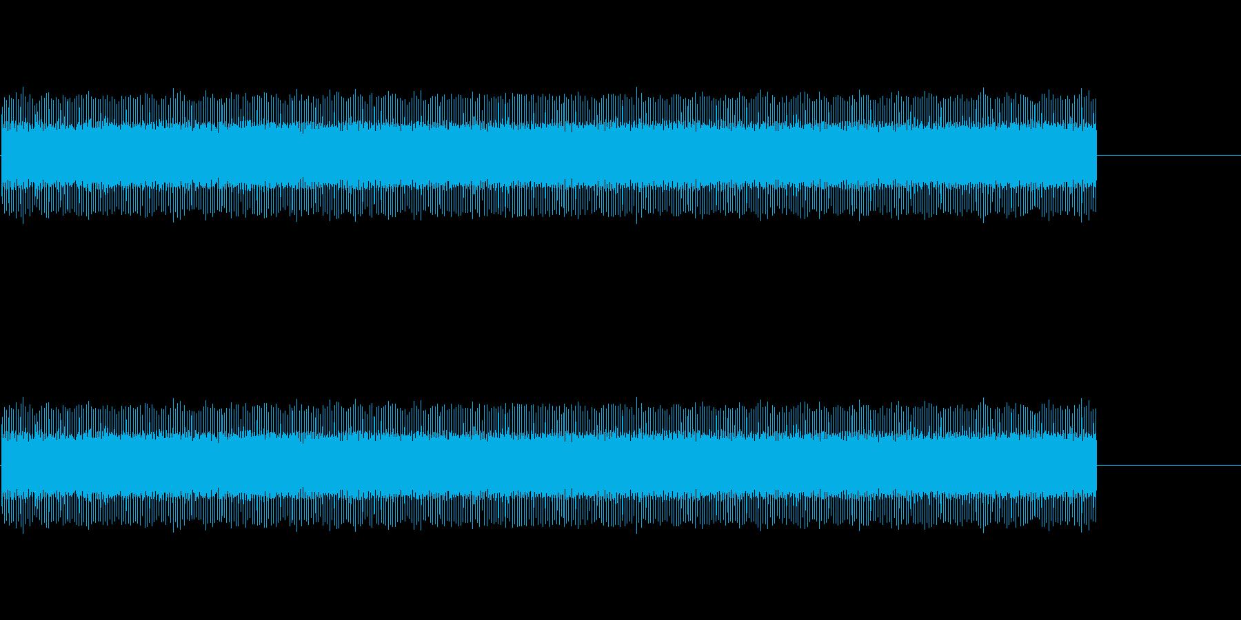 154 映写機の音の再生済みの波形