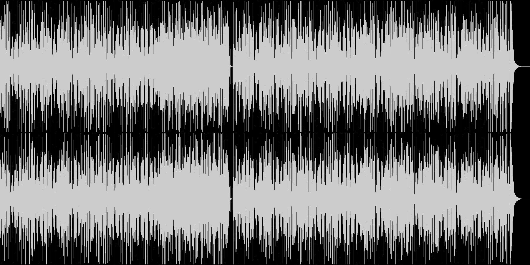 ファンク/ブラス/かっこいい/ノリノリの未再生の波形