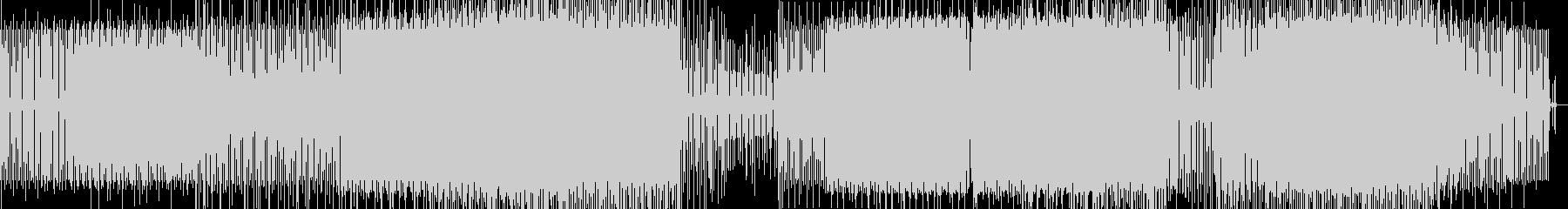 ミニマルなハウスの未再生の波形