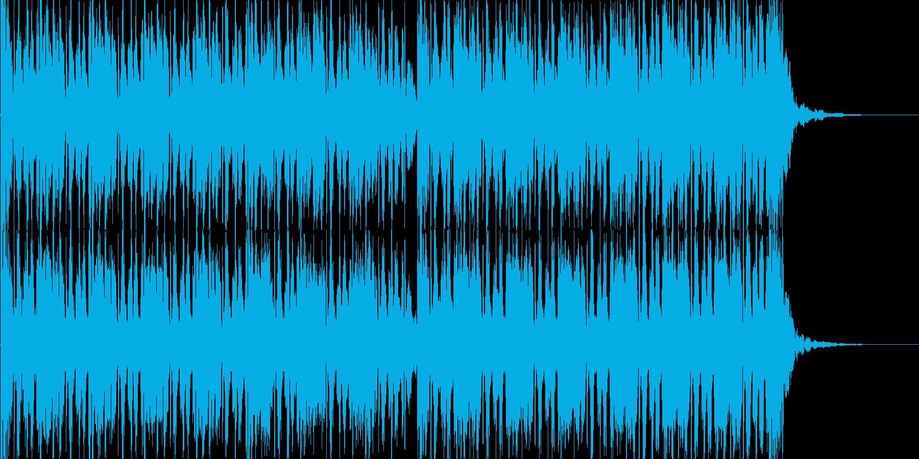 EDM ドロップの再生済みの波形