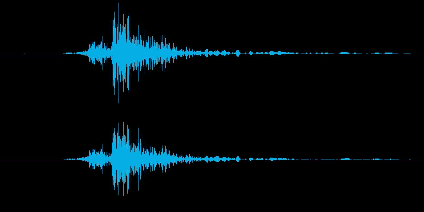 【機械/ロボット系001】ガチャンの再生済みの波形