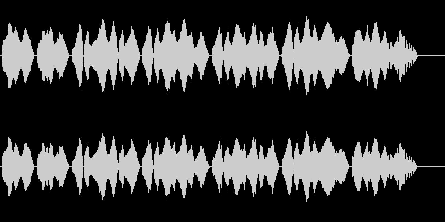 テルミン四重録音きよしこのよるBPM65の未再生の波形