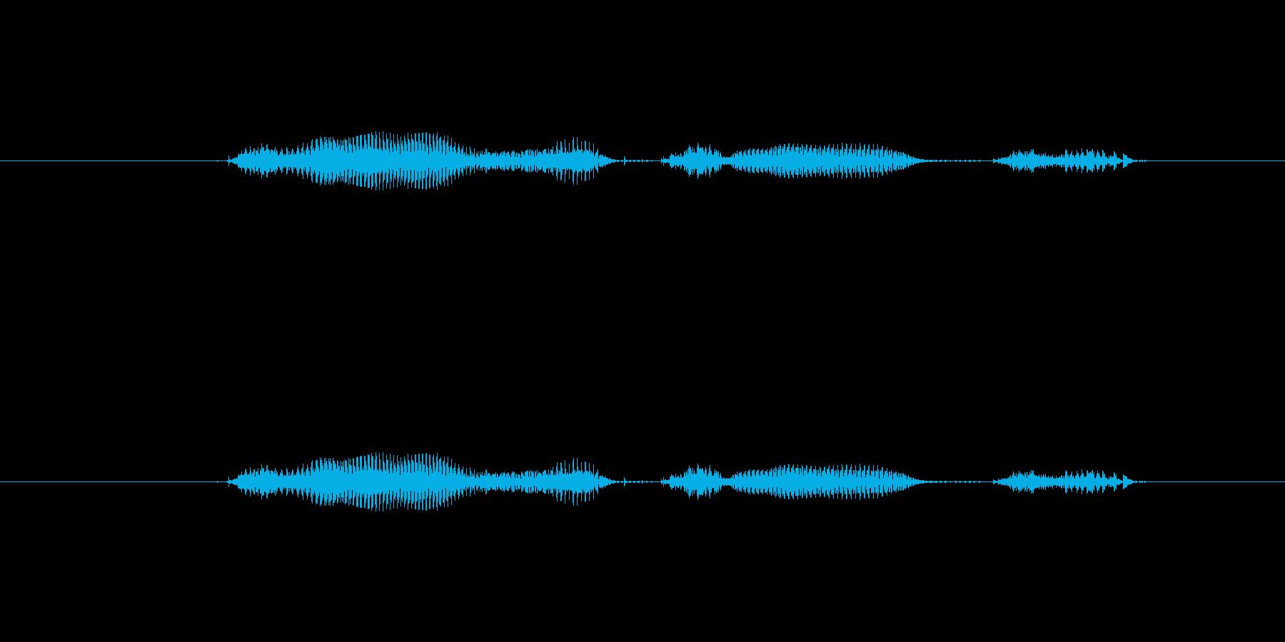 【日】18日の再生済みの波形