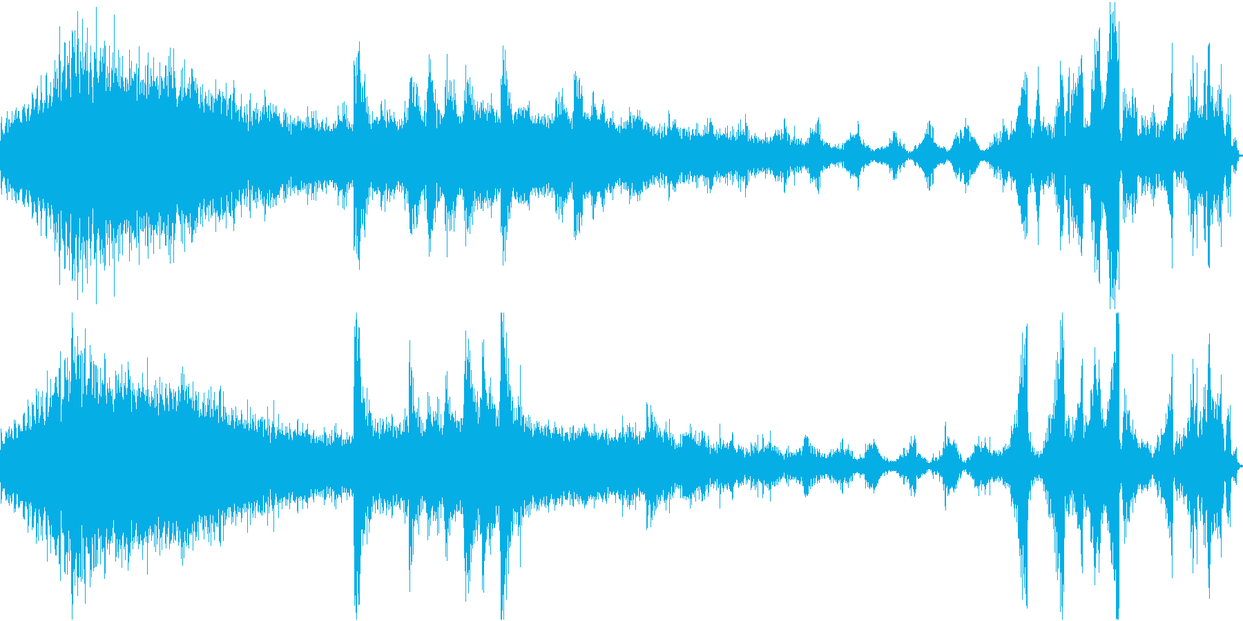 FMラジオ的ジングル4の再生済みの波形
