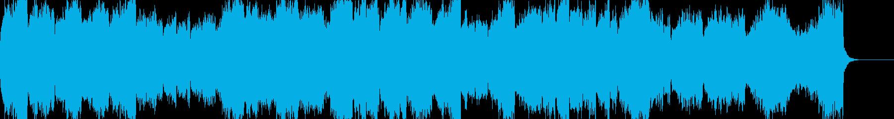 アントニン・ドヴォルザークの交響曲第9番の再生済みの波形
