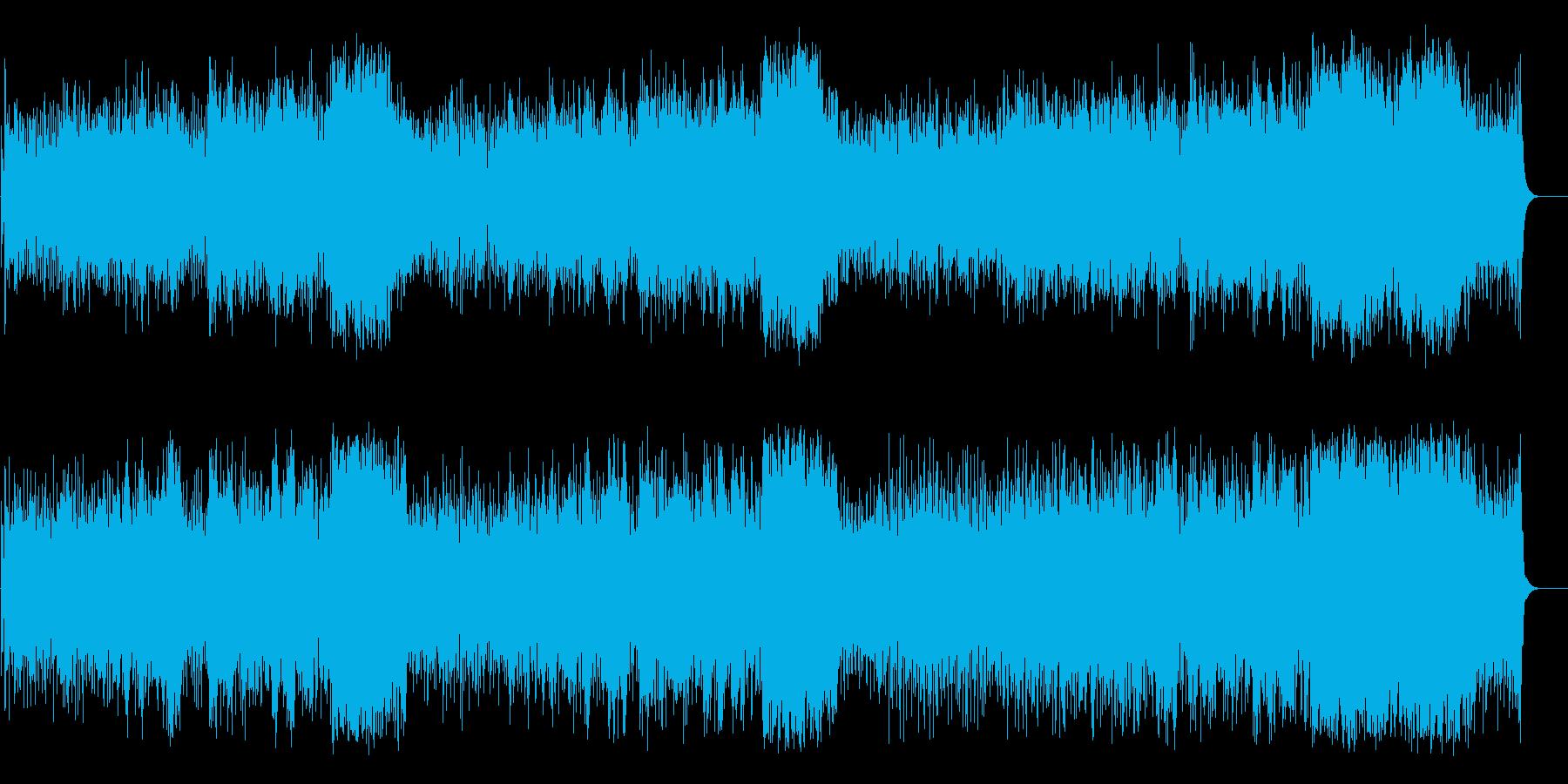 サン・ビームなカリビアン・ミュージック風の再生済みの波形