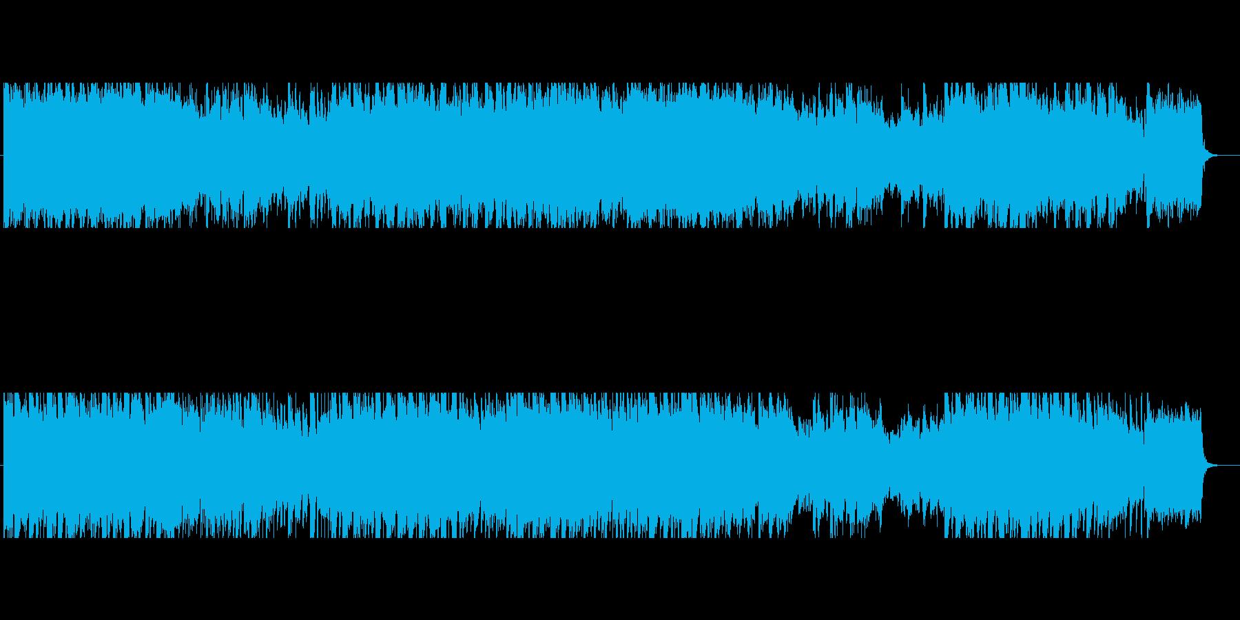 バロック調の優雅で高貴なクラシカル曲の再生済みの波形
