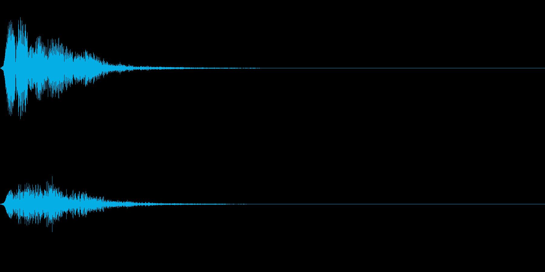 フュロロロロッ↓(フルート駆け降り)の再生済みの波形