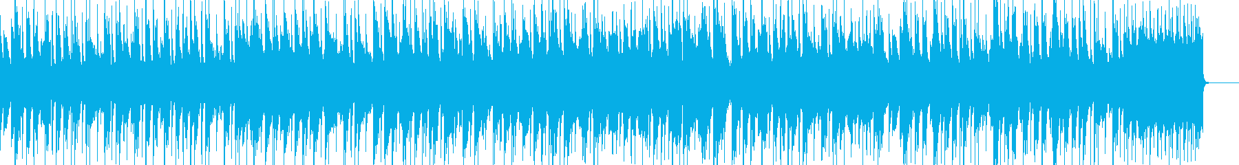 アドベンチャーゲーム系OP風の再生済みの波形