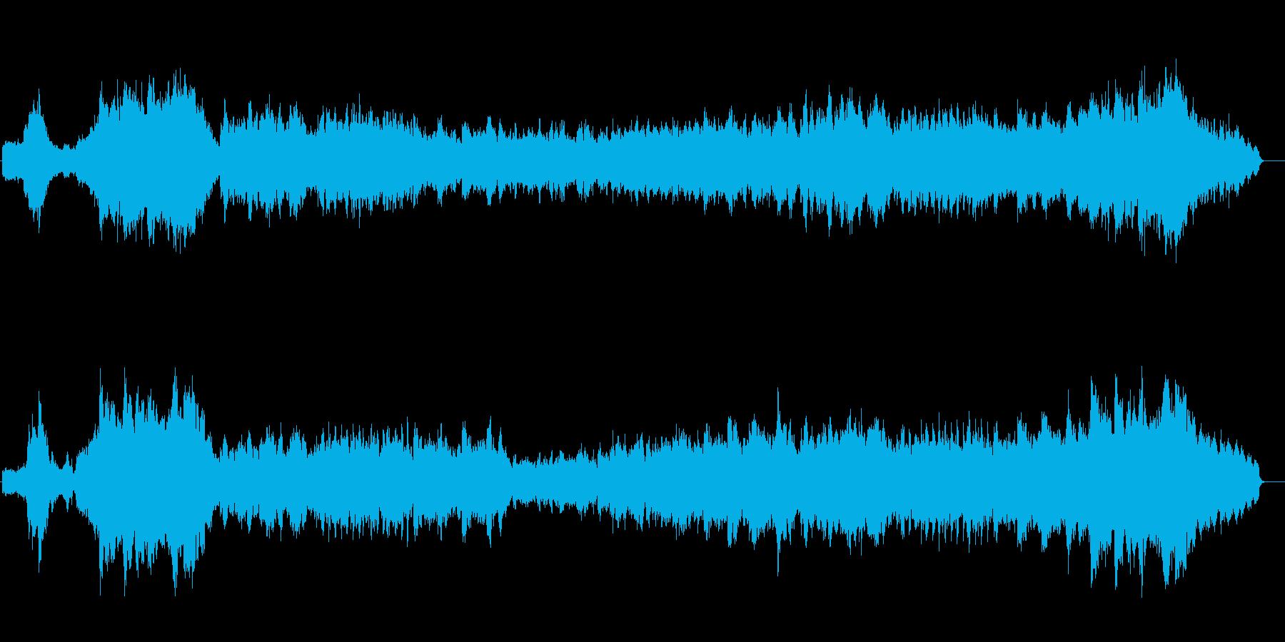 優雅なオーケストレーション・サウンドの再生済みの波形