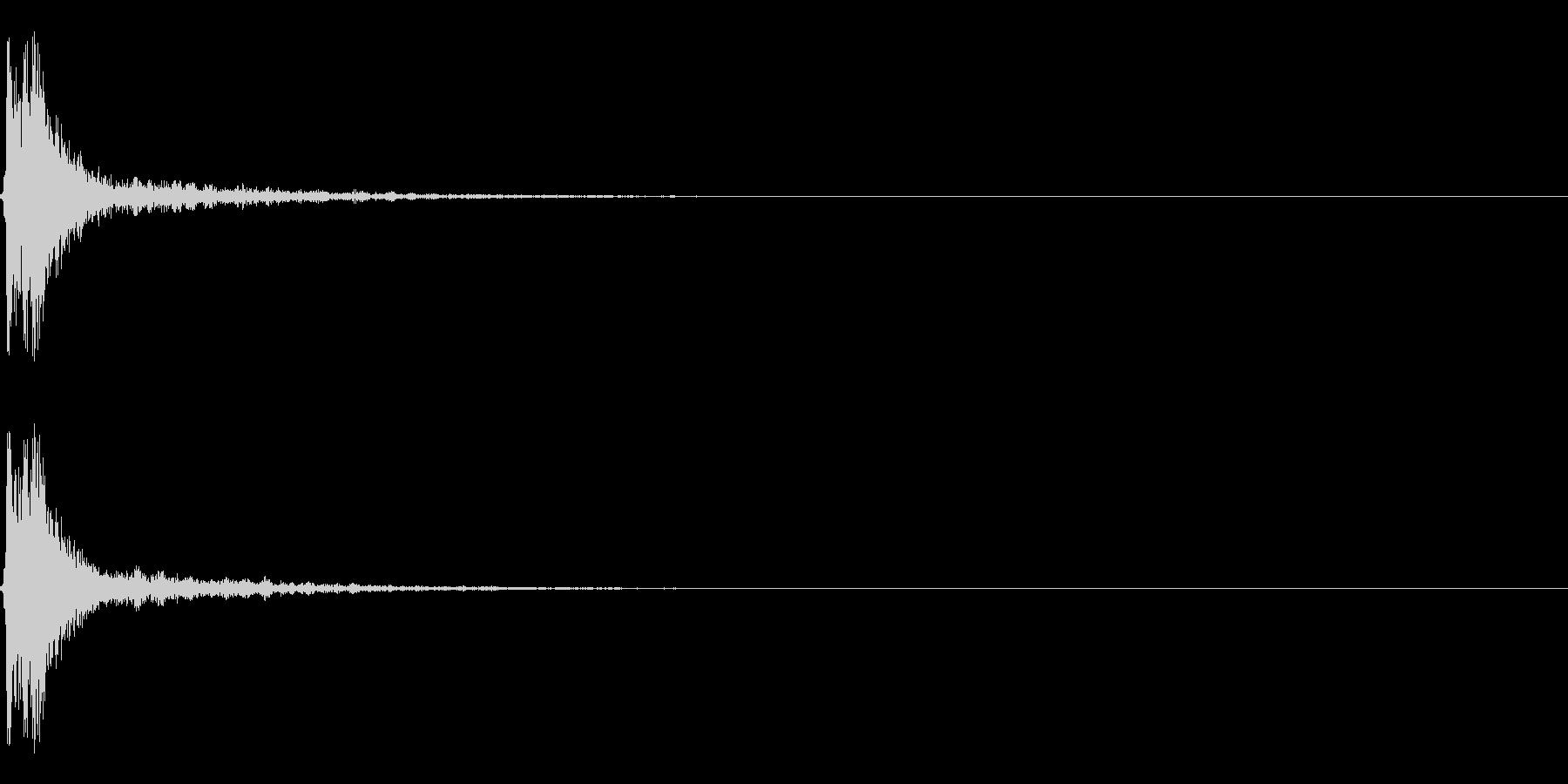 【打撃05-4】の未再生の波形