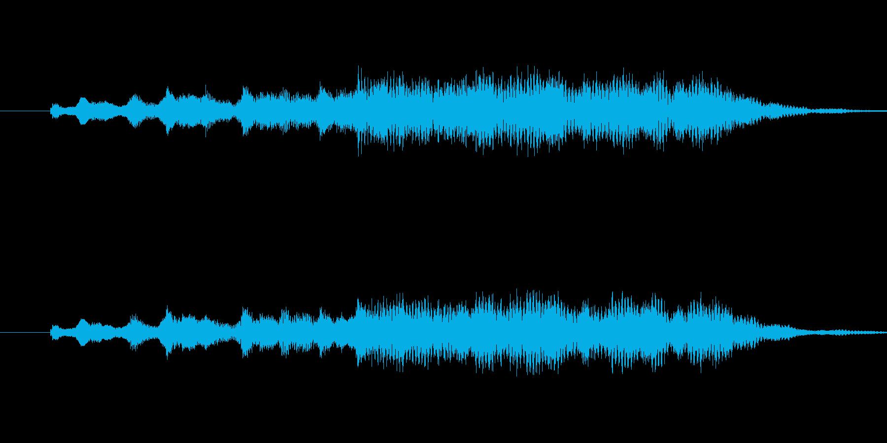 ジングルやサウンドロゴにどうぞ。の再生済みの波形