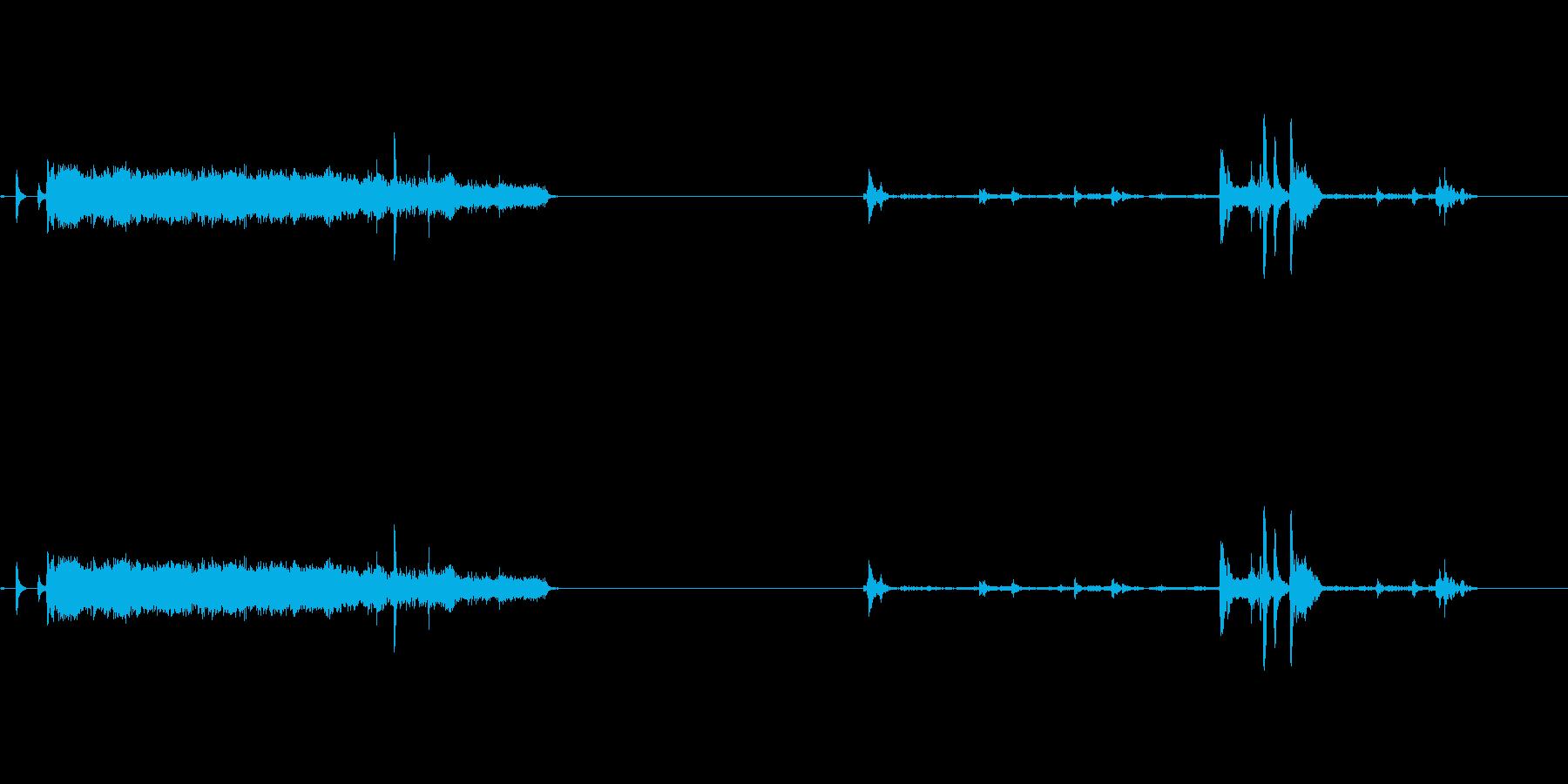 【プリンター01-3】の再生済みの波形