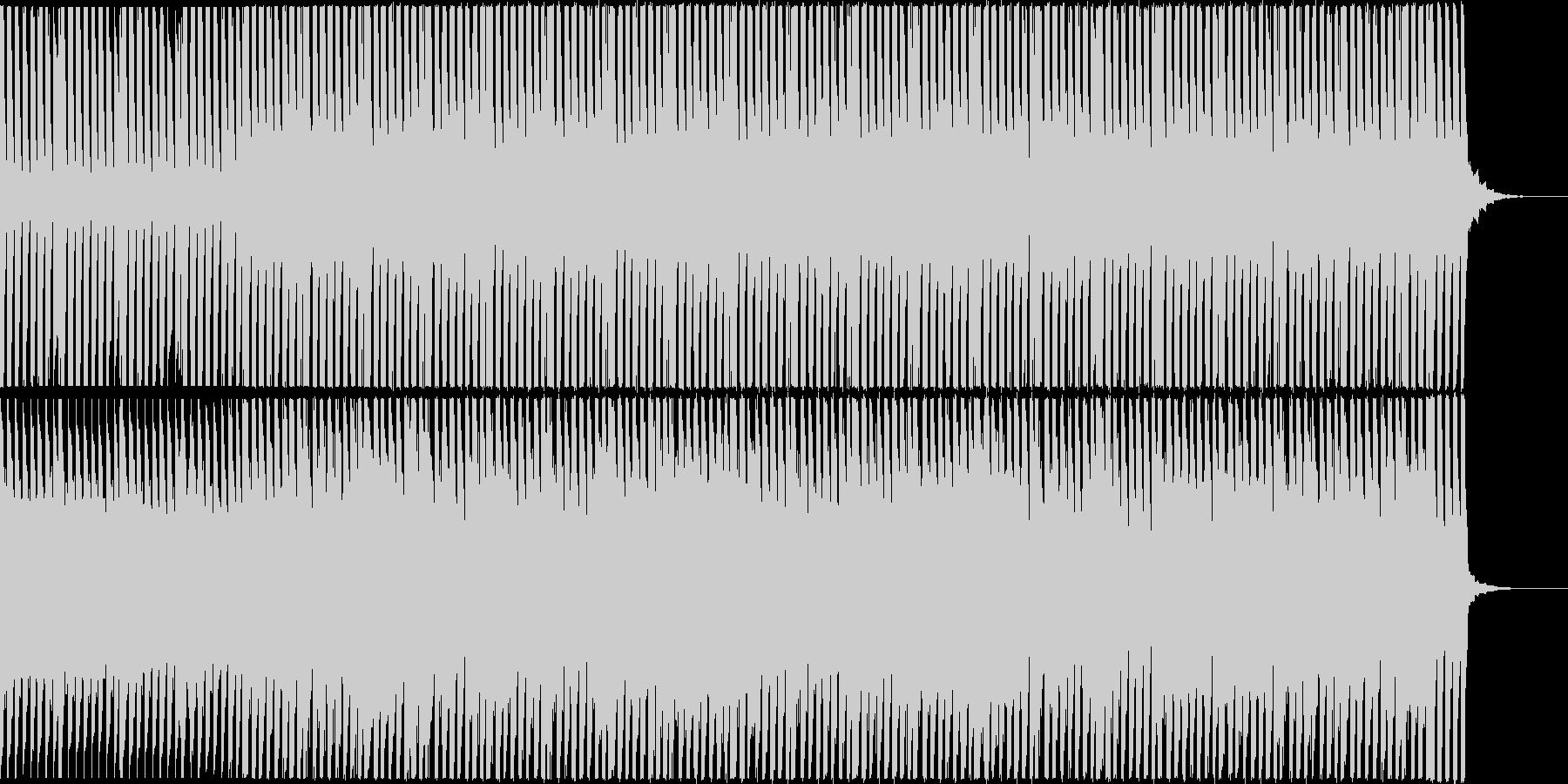 CMなどに アンビエントのジングルの未再生の波形