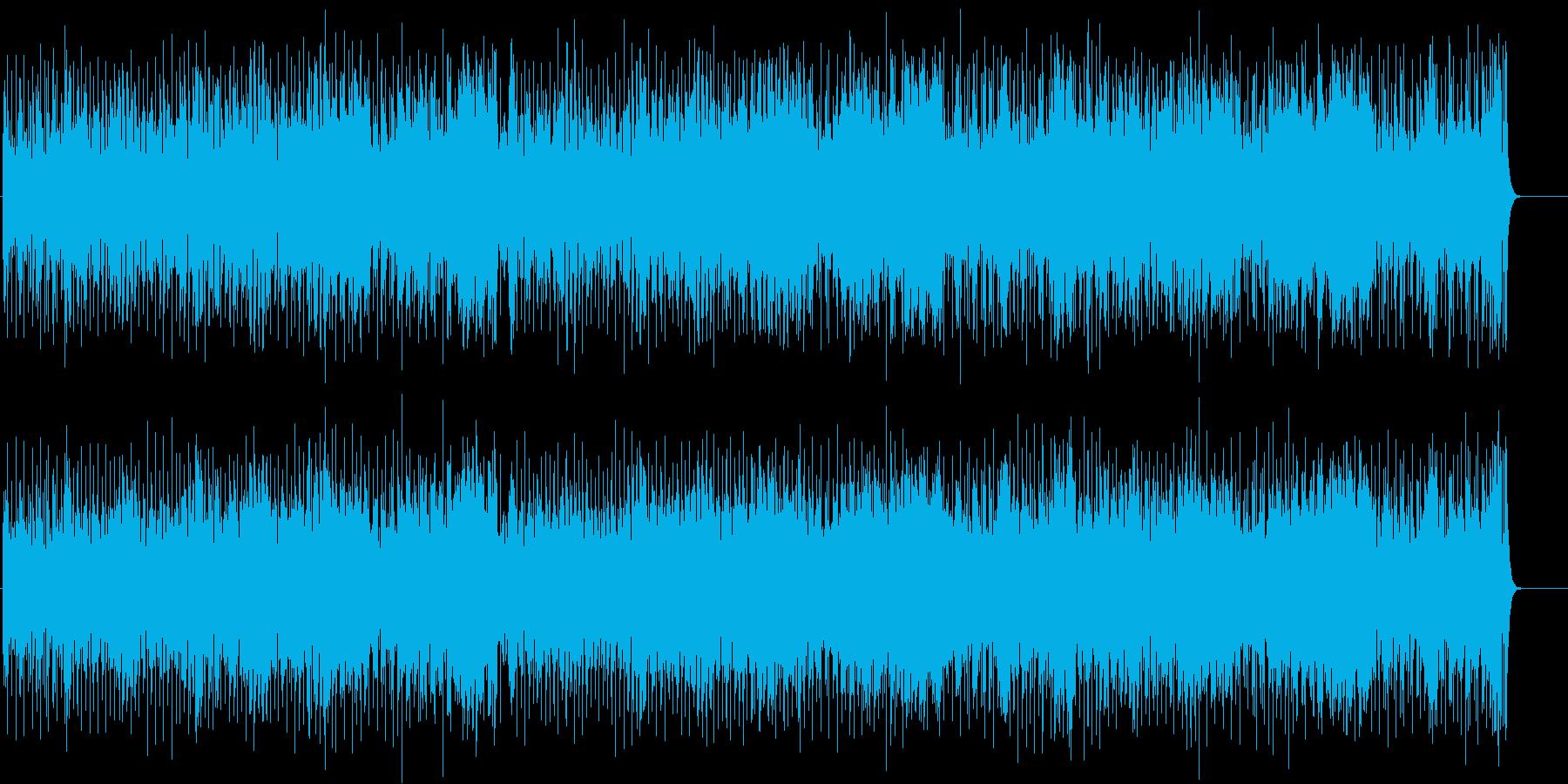 ワクワクウキウキ お茶目なポップスの再生済みの波形