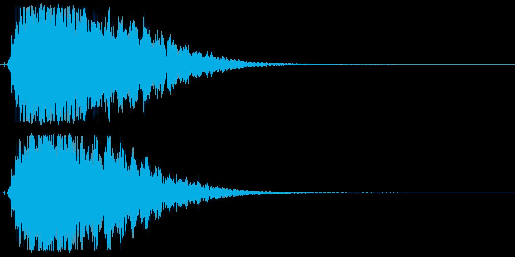 シャキーン♪星,回復,特殊魔法に最適07の再生済みの波形