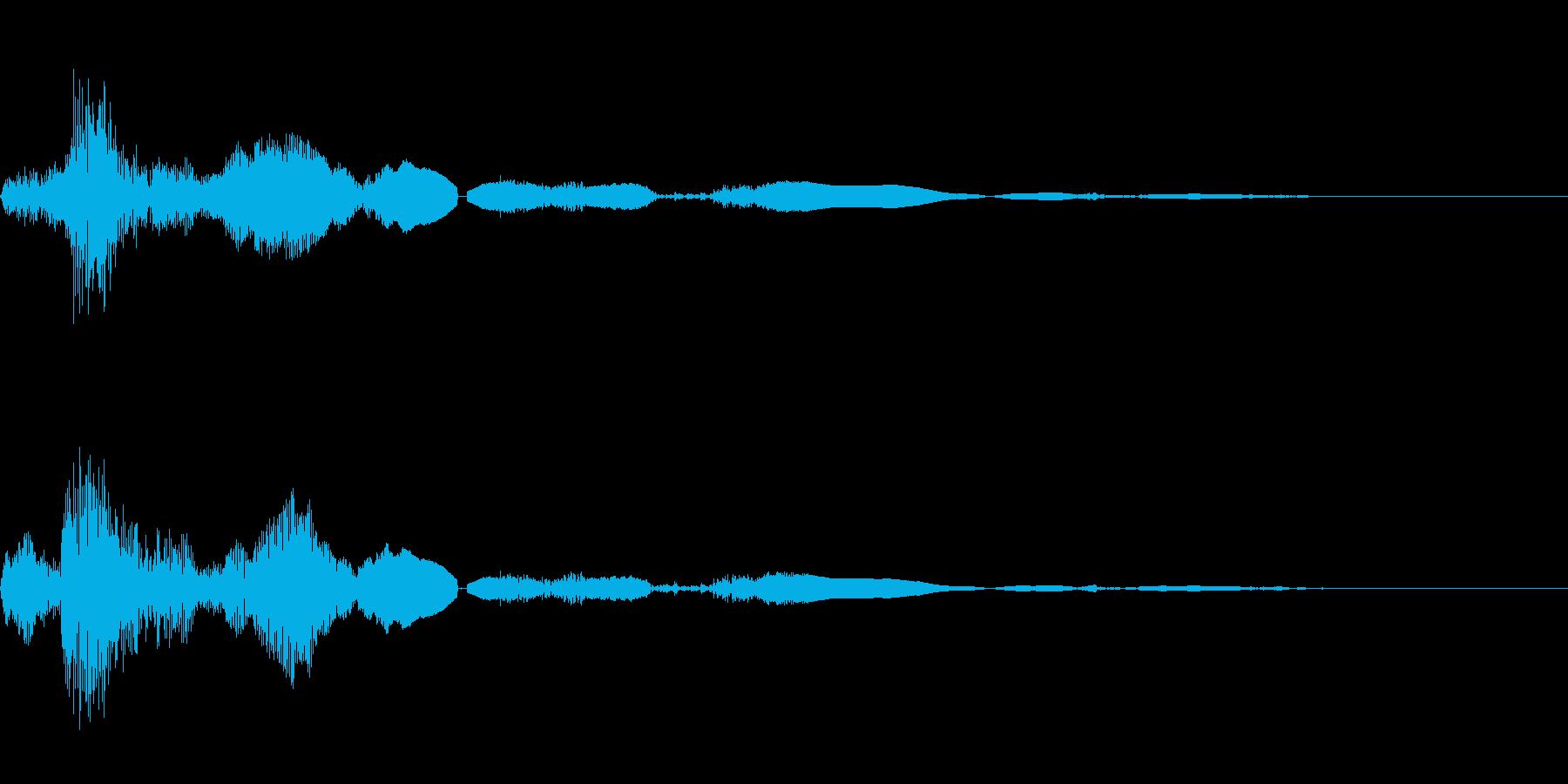 ドアノブをひねるの再生済みの波形