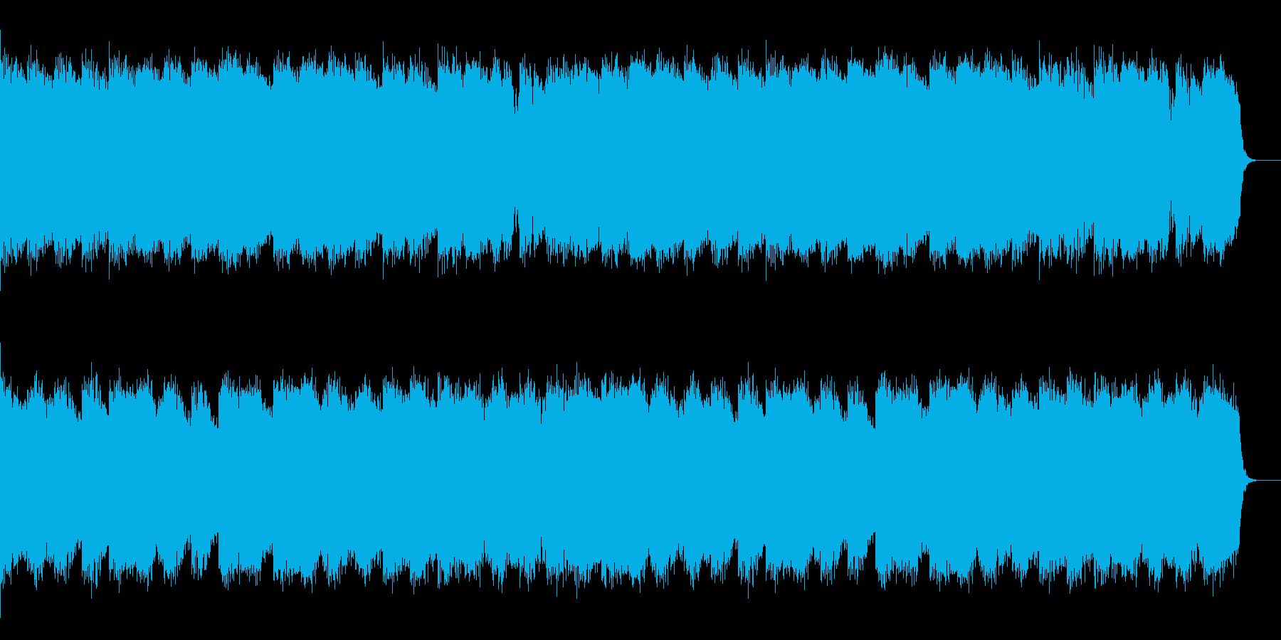 サイレントヒル風 ホラー ノイズの再生済みの波形